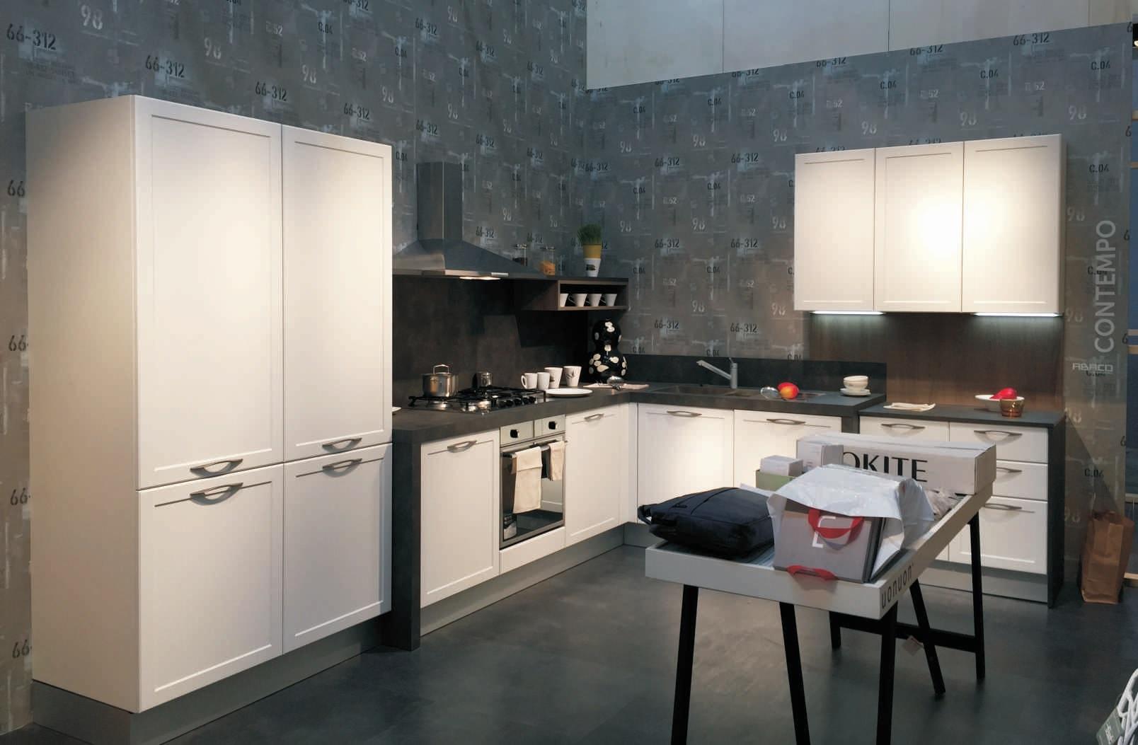 Cucina snaidero contempo bianco luce visma arredo outlet for Visma arredo treviso