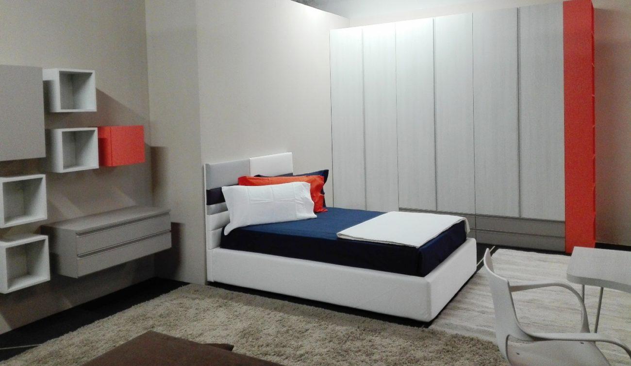 Camera singola con letto una piazza e mezza - Visma Arredo OUTLET